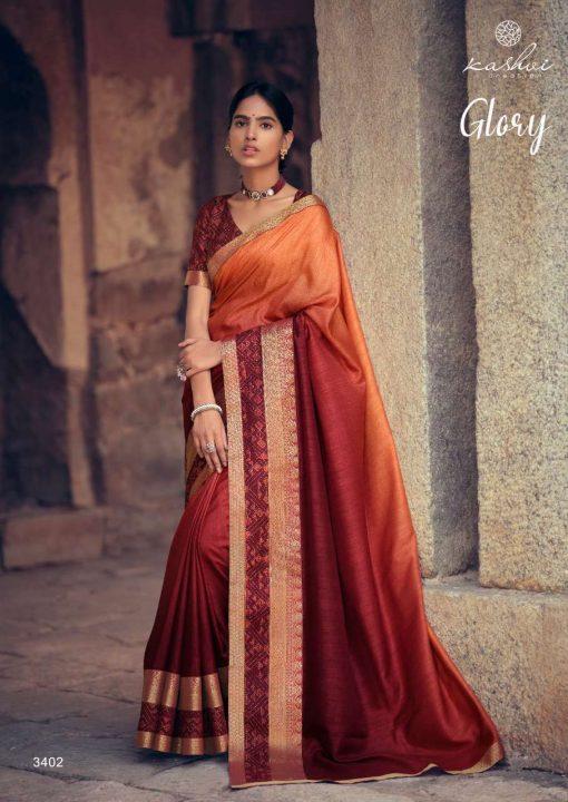 Kashvi Glory by Lt Fabrics Saree Sari Wholesale Catalog 10 Pcs 6 510x720 - Kashvi Glory by Lt Fabrics Saree Sari Wholesale Catalog 10 Pcs