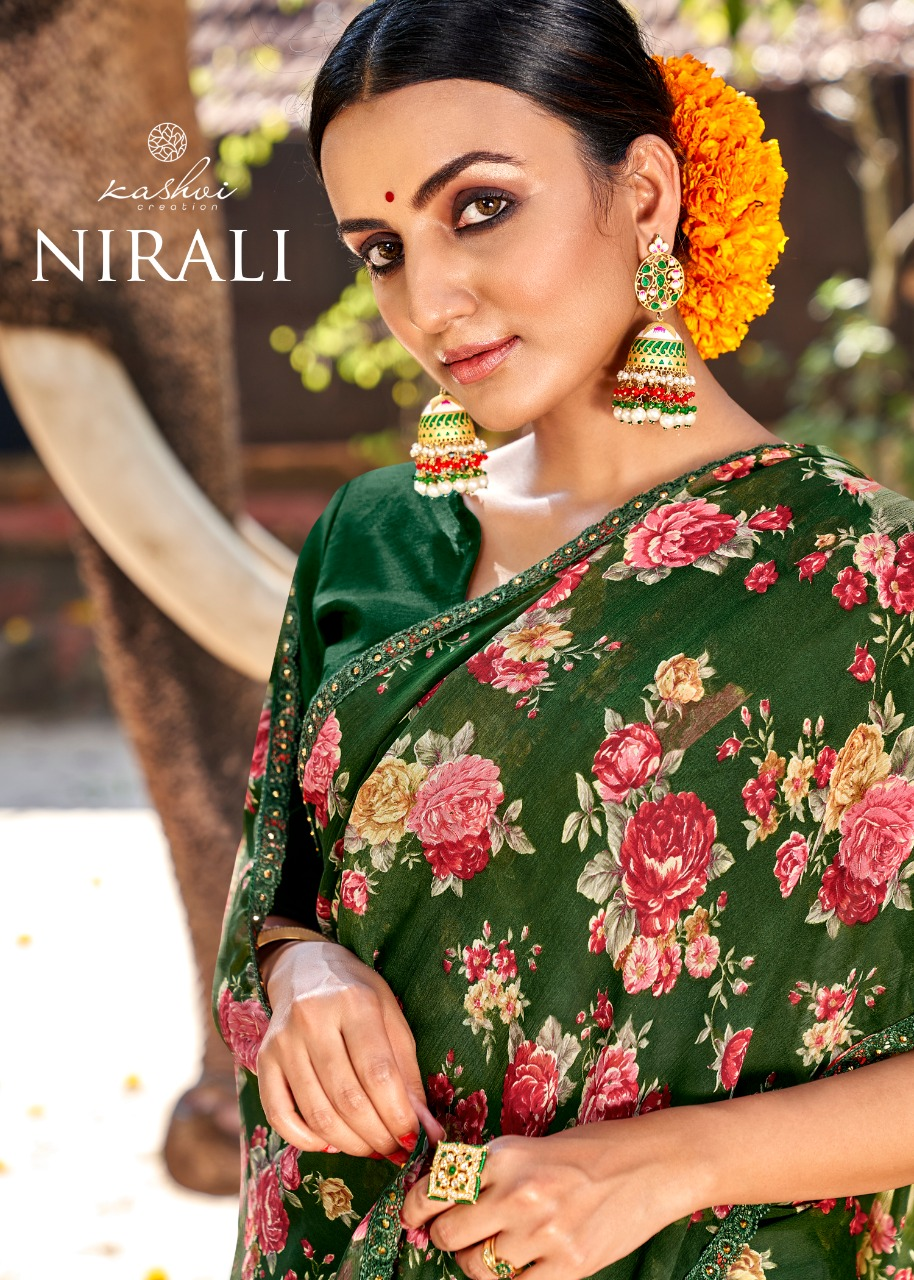 Kashvi Nirali by Lt Fabrics Saree Sari Wholesale Catalog 6 Pcs 6 - Kashvi Nirali by Lt Fabrics Saree Sari Wholesale Catalog 10 Pcs