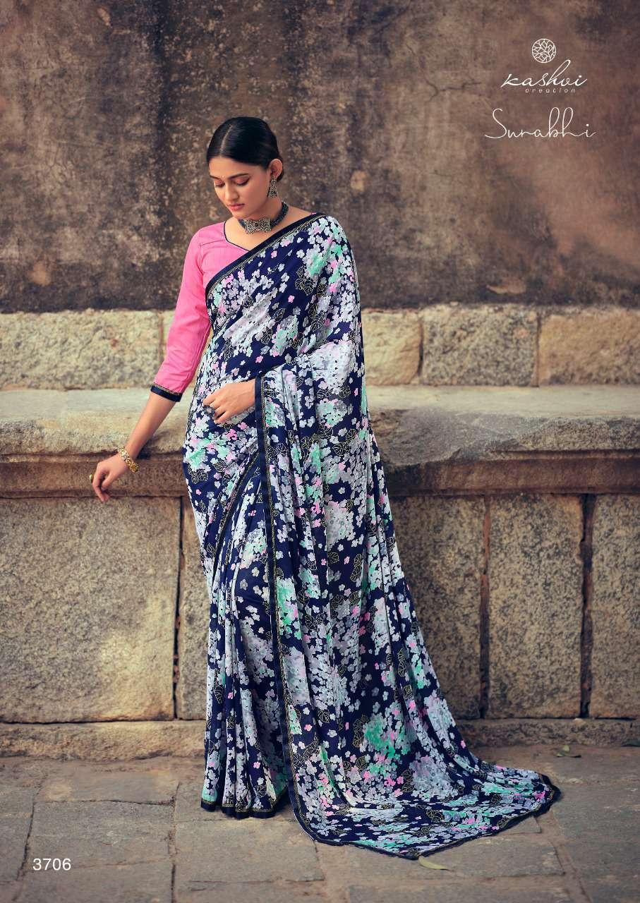 Kashvi Surabhi by Lt Fabrics Saree Sari Wholesale Catalog 10 Pcs 10 - Kashvi Surabhi by Lt Fabrics Saree Sari Wholesale Catalog 10 Pcs
