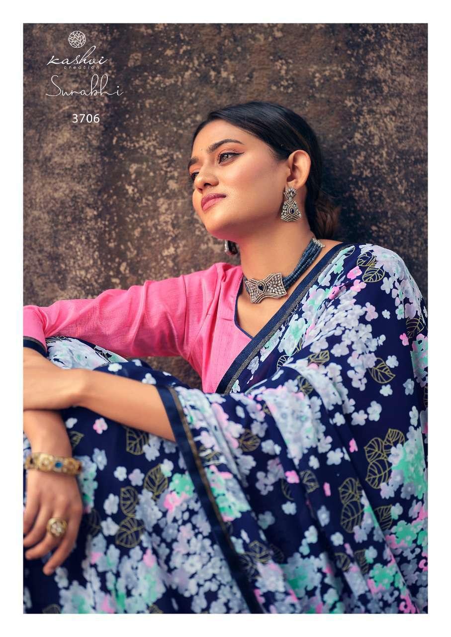 Kashvi Surabhi by Lt Fabrics Saree Sari Wholesale Catalog 10 Pcs 11 - Kashvi Surabhi by Lt Fabrics Saree Sari Wholesale Catalog 10 Pcs
