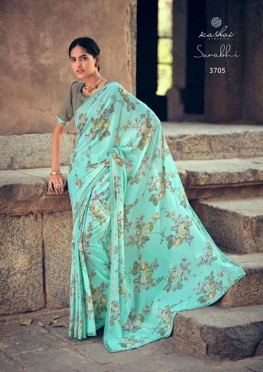 Kashvi Surabhi by Lt Fabrics Saree Sari Wholesale Catalog 10 Pcs 12 - Kashvi Surabhi by Lt Fabrics Saree Sari Wholesale Catalog 10 Pcs