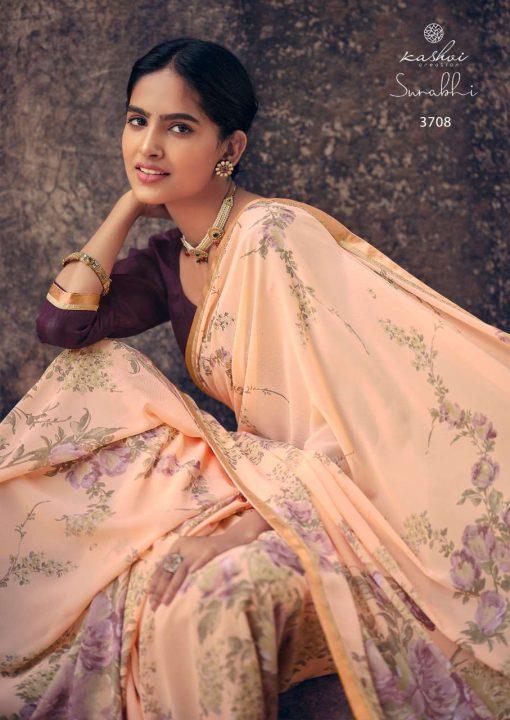 Kashvi Surabhi by Lt Fabrics Saree Sari Wholesale Catalog 10 Pcs 14 510x720 - Kashvi Surabhi by Lt Fabrics Saree Sari Wholesale Catalog 10 Pcs