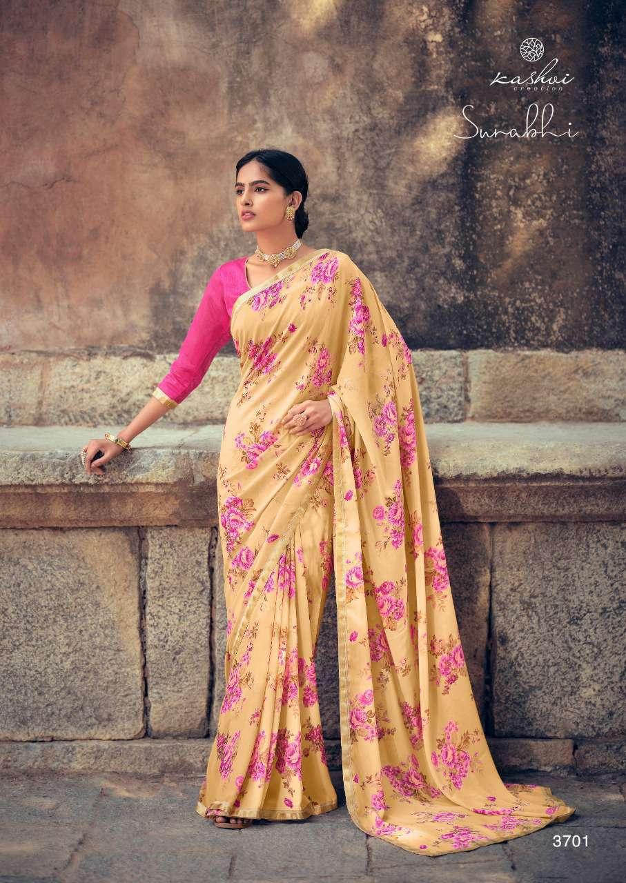 Kashvi Surabhi by Lt Fabrics Saree Sari Wholesale Catalog 10 Pcs 2 - Kashvi Surabhi by Lt Fabrics Saree Sari Wholesale Catalog 10 Pcs