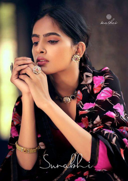 Kashvi Surabhi by Lt Fabrics Saree Sari Wholesale Catalog 10 Pcs 20 510x720 - Kashvi Surabhi by Lt Fabrics Saree Sari Wholesale Catalog 10 Pcs