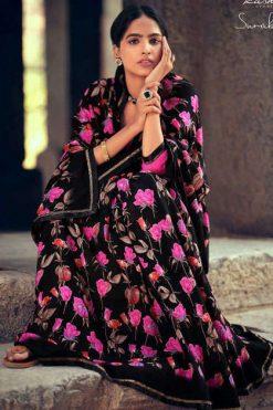 Kashvi Surabhi by Lt Fabrics Saree Sari Wholesale Catalog 10 Pcs