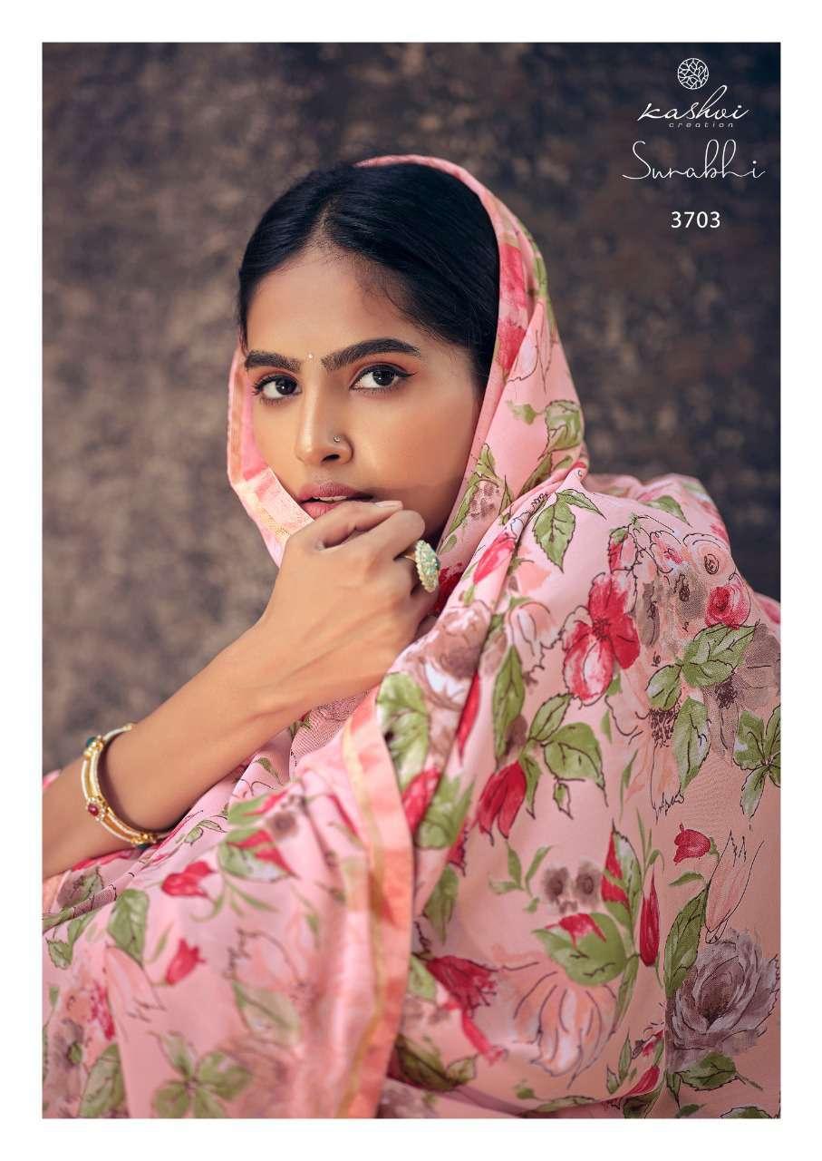 Kashvi Surabhi by Lt Fabrics Saree Sari Wholesale Catalog 10 Pcs 6 - Kashvi Surabhi by Lt Fabrics Saree Sari Wholesale Catalog 10 Pcs