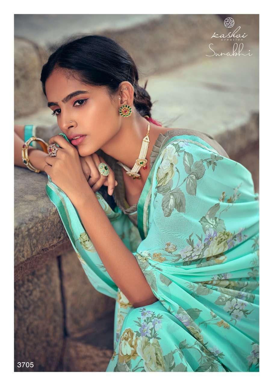 Kashvi Surabhi by Lt Fabrics Saree Sari Wholesale Catalog 10 Pcs 7 - Kashvi Surabhi by Lt Fabrics Saree Sari Wholesale Catalog 10 Pcs
