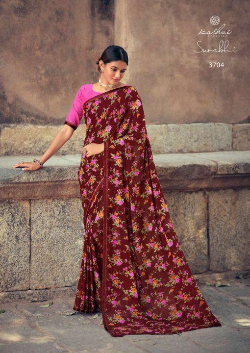 Kashvi Surabhi by Lt Fabrics Saree Sari Wholesale Catalog 10 Pcs 8 510x720 - Kashvi Surabhi by Lt Fabrics Saree Sari Wholesale Catalog 10 Pcs