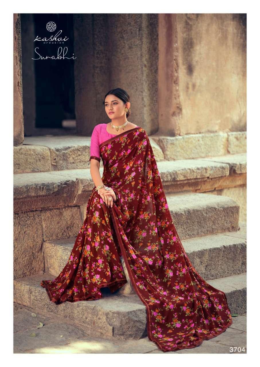 Kashvi Surabhi by Lt Fabrics Saree Sari Wholesale Catalog 10 Pcs 9 - Kashvi Surabhi by Lt Fabrics Saree Sari Wholesale Catalog 10 Pcs