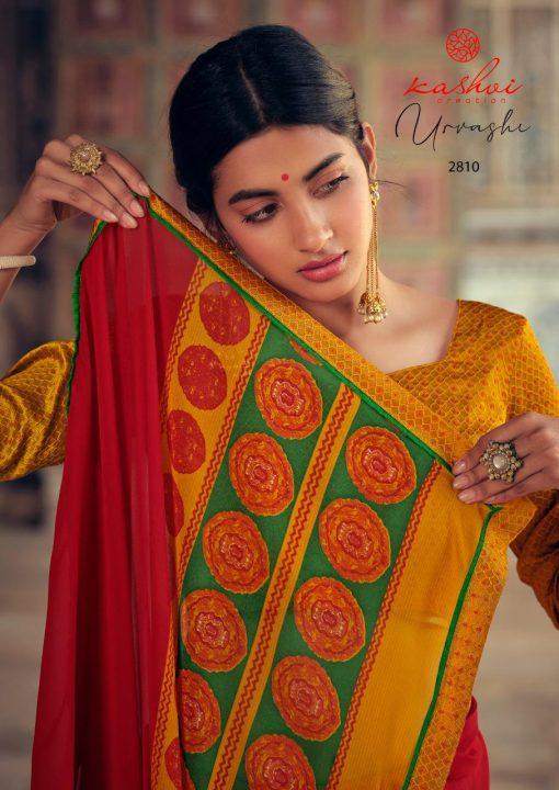Kashvi Urvashi by Lt Fabrics Saree Sari Wholesale Catalog 10 Pcs 1 510x720 - Kashvi Urvashi by Lt Fabrics Saree Sari Wholesale Catalog 10 Pcs