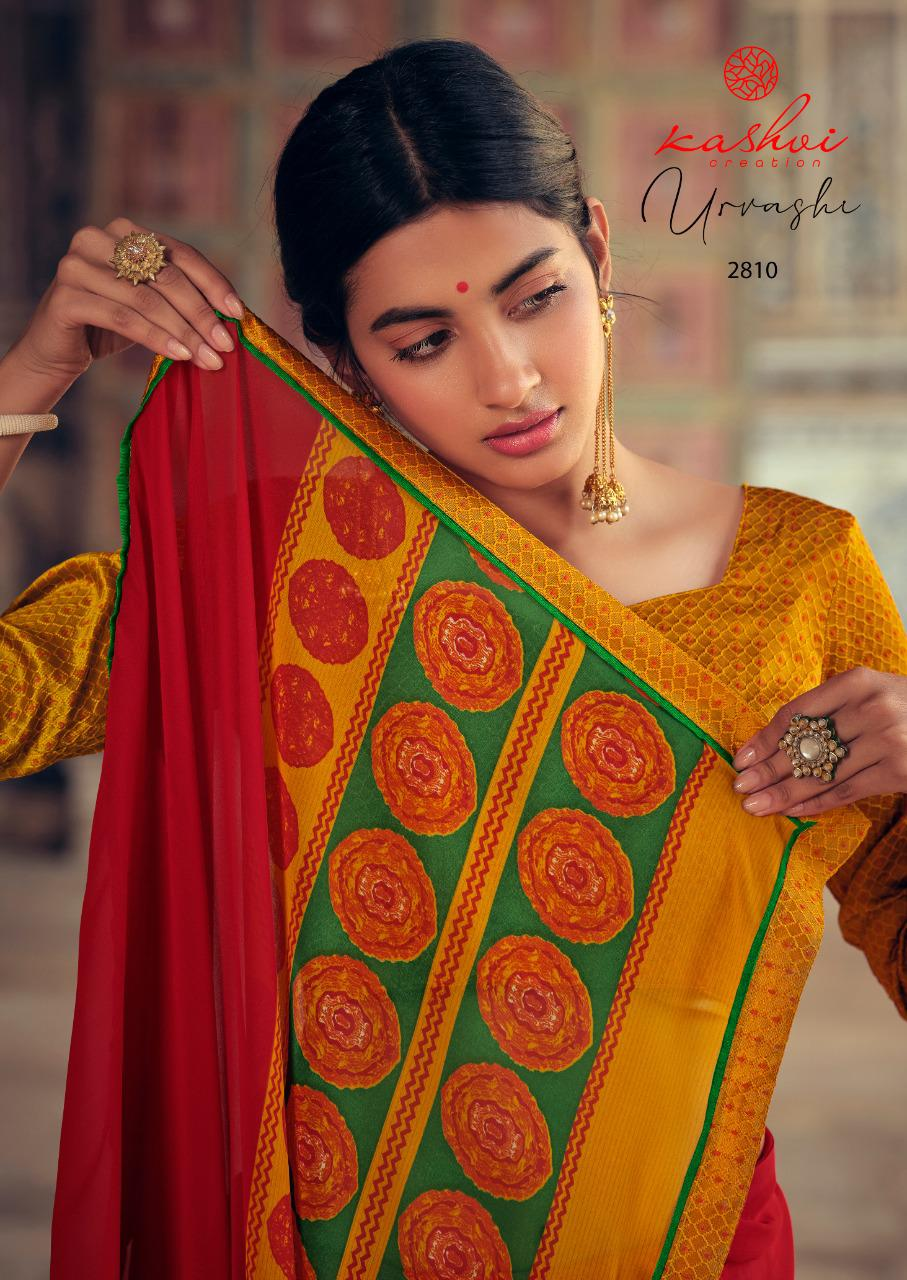 Kashvi Urvashi by Lt Fabrics Saree Sari Wholesale Catalog 10 Pcs 1 - Kashvi Urvashi by Lt Fabrics Saree Sari Wholesale Catalog 10 Pcs