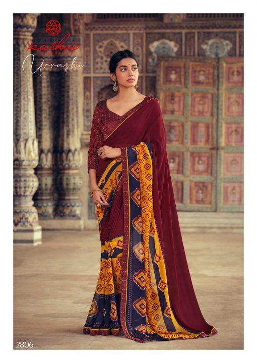 Kashvi Urvashi by Lt Fabrics Saree Sari Wholesale Catalog 10 Pcs 11 510x720 - Kashvi Urvashi by Lt Fabrics Saree Sari Wholesale Catalog 10 Pcs