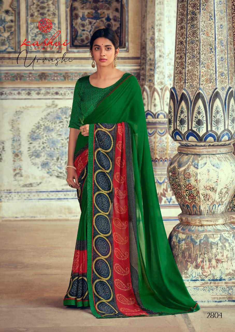 Kashvi Urvashi by Lt Fabrics Saree Sari Wholesale Catalog 10 Pcs 12 - Kashvi Urvashi by Lt Fabrics Saree Sari Wholesale Catalog 10 Pcs