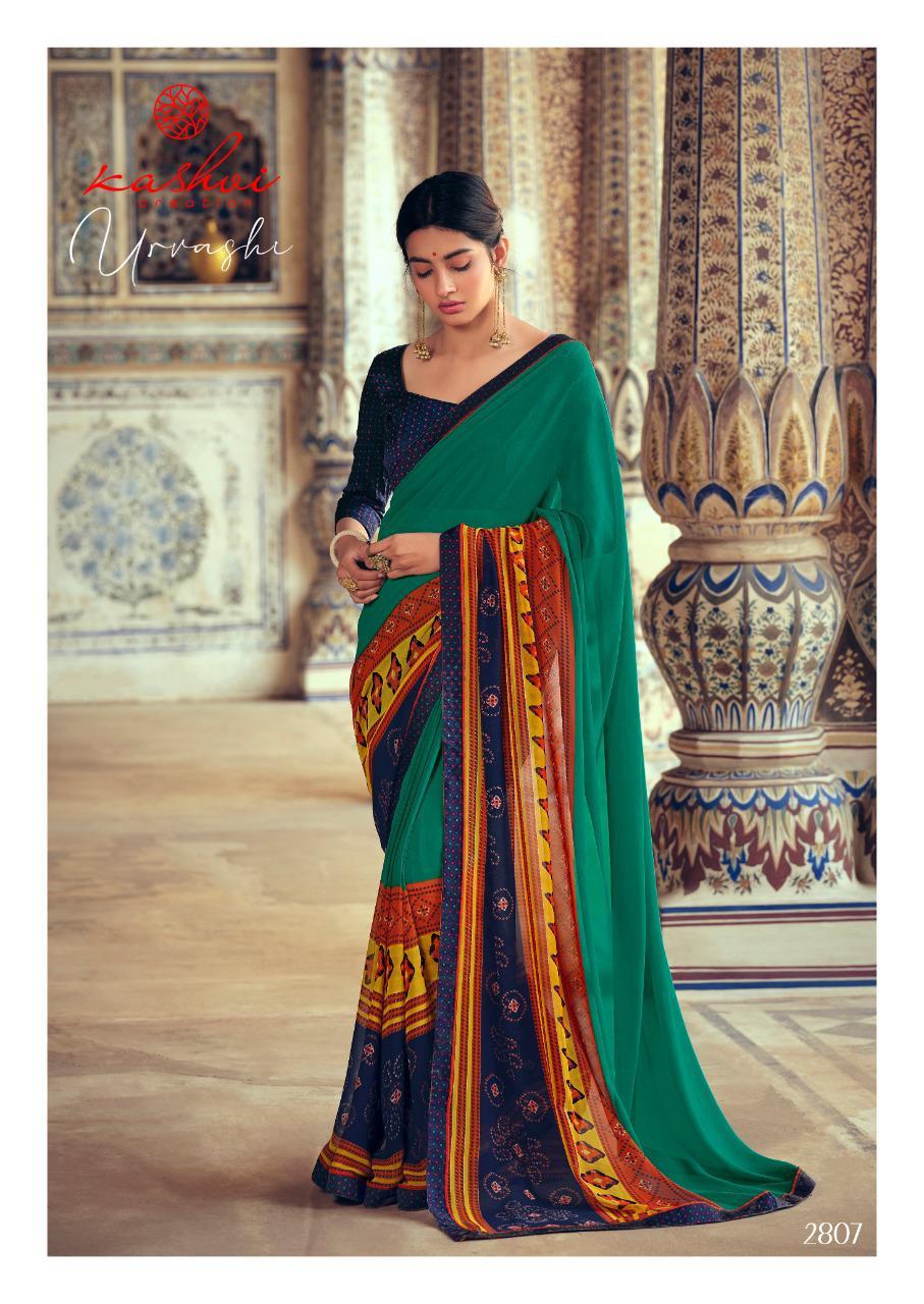 Kashvi Urvashi by Lt Fabrics Saree Sari Wholesale Catalog 10 Pcs 16 - Kashvi Urvashi by Lt Fabrics Saree Sari Wholesale Catalog 10 Pcs