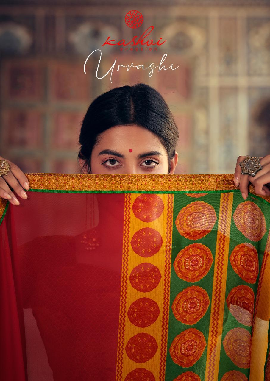 Kashvi Urvashi by Lt Fabrics Saree Sari Wholesale Catalog 10 Pcs 3 - Kashvi Urvashi by Lt Fabrics Saree Sari Wholesale Catalog 10 Pcs