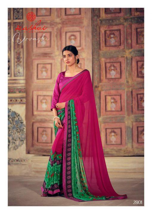 Kashvi Urvashi by Lt Fabrics Saree Sari Wholesale Catalog 10 Pcs 5 510x720 - Kashvi Urvashi by Lt Fabrics Saree Sari Wholesale Catalog 10 Pcs
