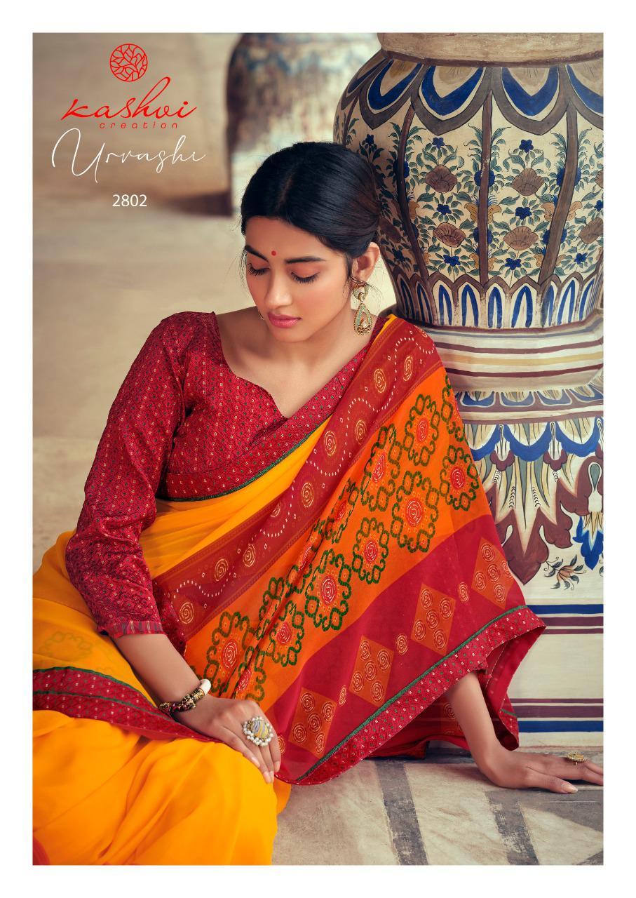 Kashvi Urvashi by Lt Fabrics Saree Sari Wholesale Catalog 10 Pcs 9 - Kashvi Urvashi by Lt Fabrics Saree Sari Wholesale Catalog 10 Pcs