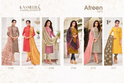 Kayce Kasmeera Afreen Vol 3 Salwar Suit Wholesale Catalog 6 Pcs 8 510x340 - Kayce Kasmeera Afreen Vol 3 Salwar Suit Wholesale Catalog 6 Pcs