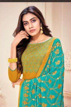Kayce Kasmeera Kaamini Cotton Vol 12 Salwar Suit Wholesale Catalog 12 Pcs