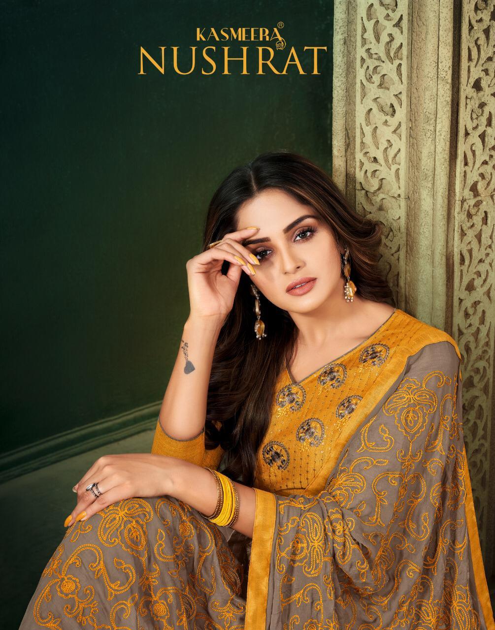 Kayce Kasmeera Nushrat Salwar Suit Wholesale Catalog 12 Pcs 1 - Kayce Kasmeera Nushrat Salwar Suit Wholesale Catalog 12 Pcs