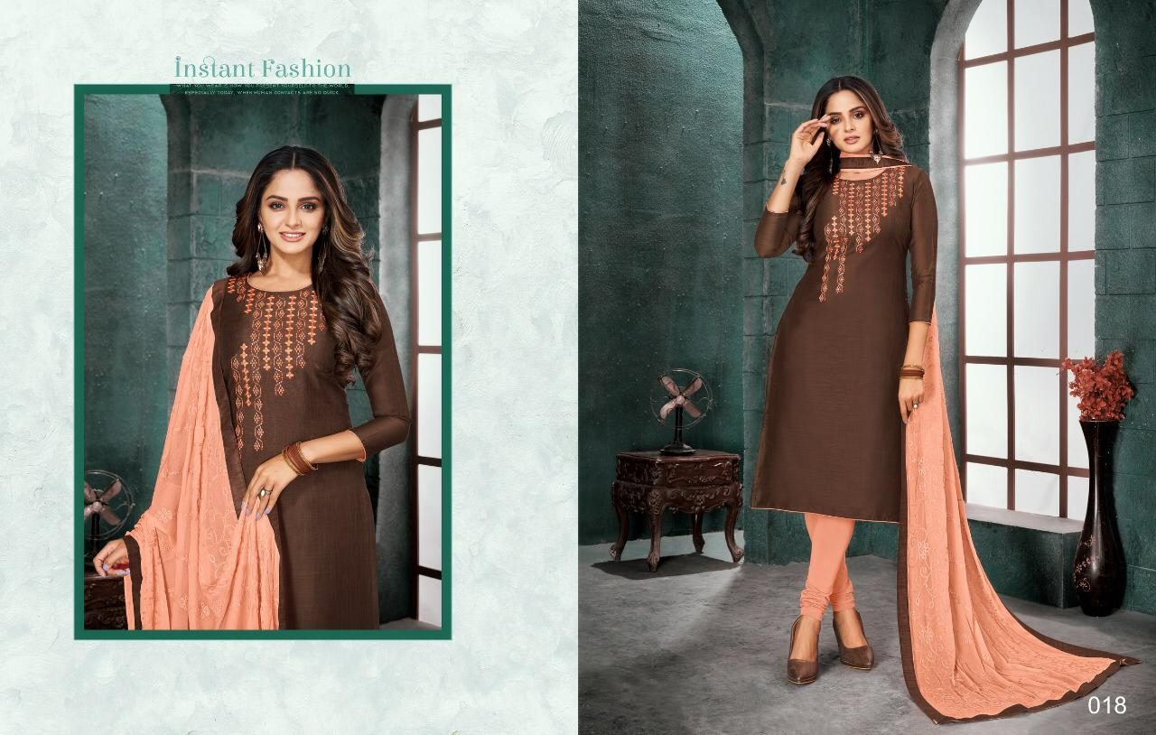 Kayce Kasmeera Nushrat Salwar Suit Wholesale Catalog 12 Pcs 12 - Kayce Kasmeera Nushrat Salwar Suit Wholesale Catalog 12 Pcs