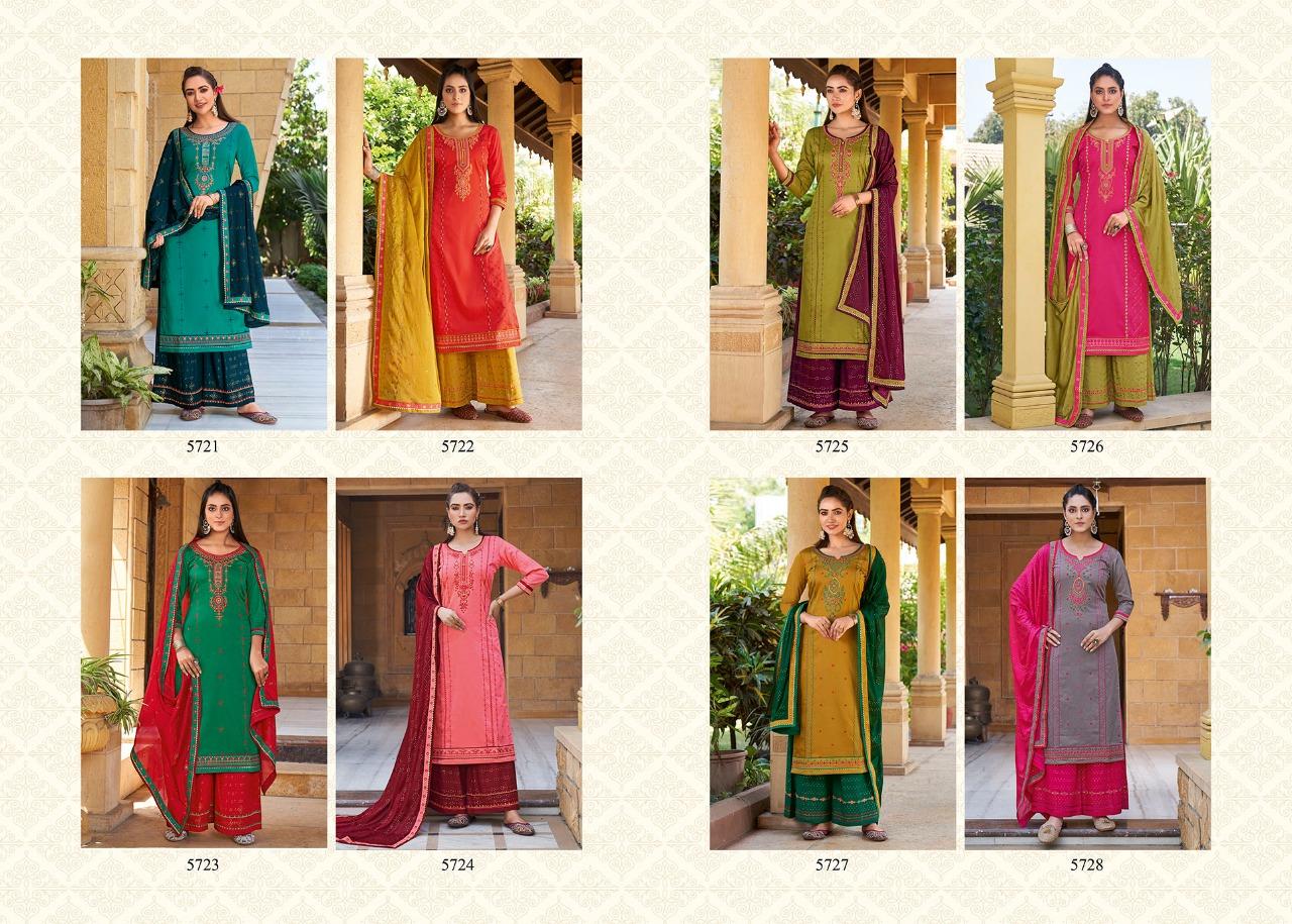 Kessi Safari Premium Salwar Suit Wholesale Catalog 8 Pcs 10 - Kessi Safari Premium Salwar Suit Wholesale Catalog 8 Pcs