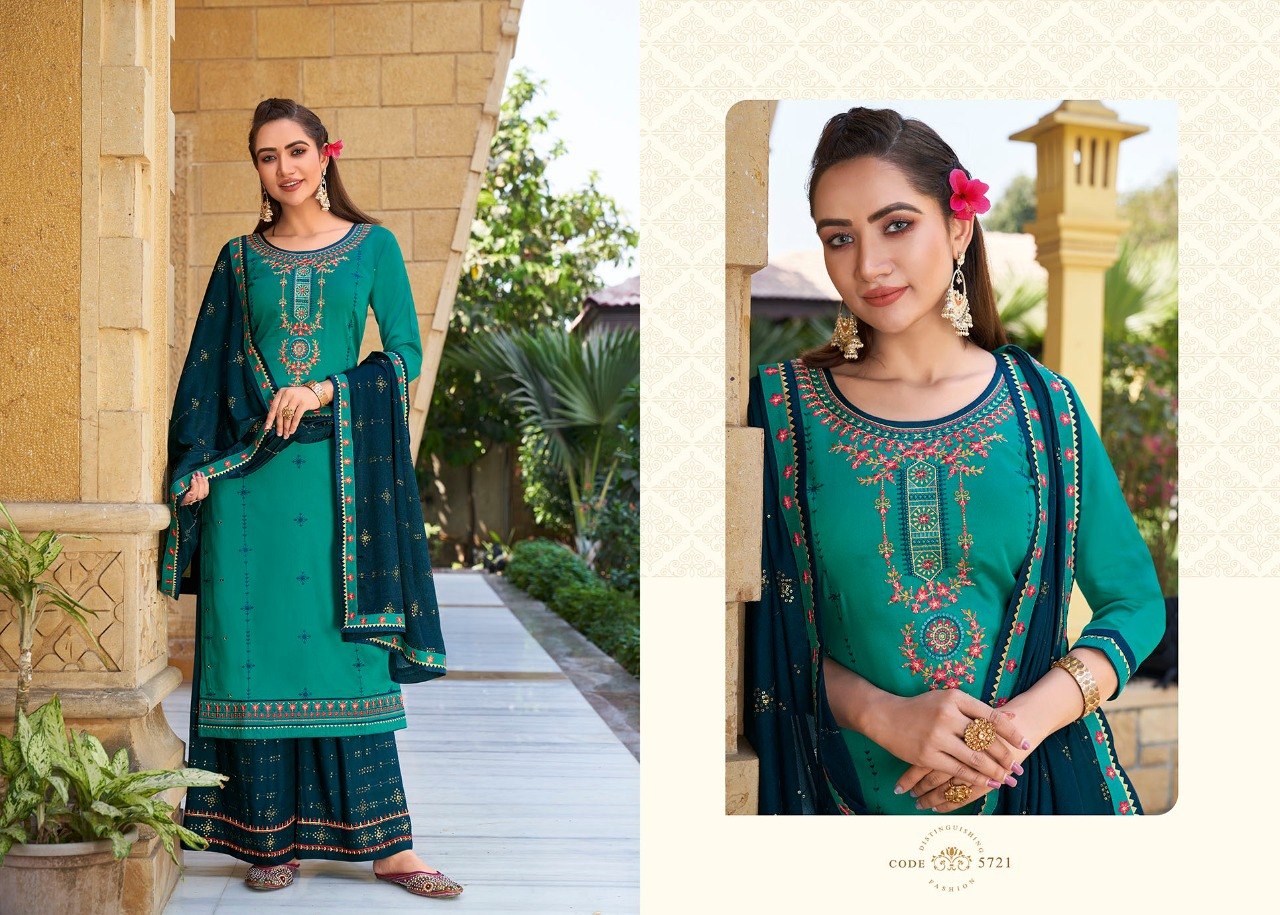 Kessi Safari Premium Salwar Suit Wholesale Catalog 8 Pcs 5 - Kessi Safari Premium Salwar Suit Wholesale Catalog 8 Pcs