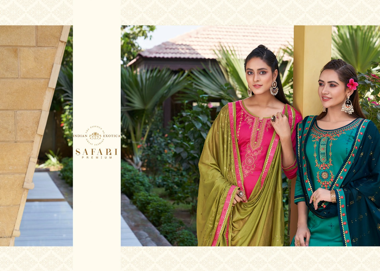 Kessi Safari Premium Salwar Suit Wholesale Catalog 8 Pcs 6 - Kessi Safari Premium Salwar Suit Wholesale Catalog 8 Pcs