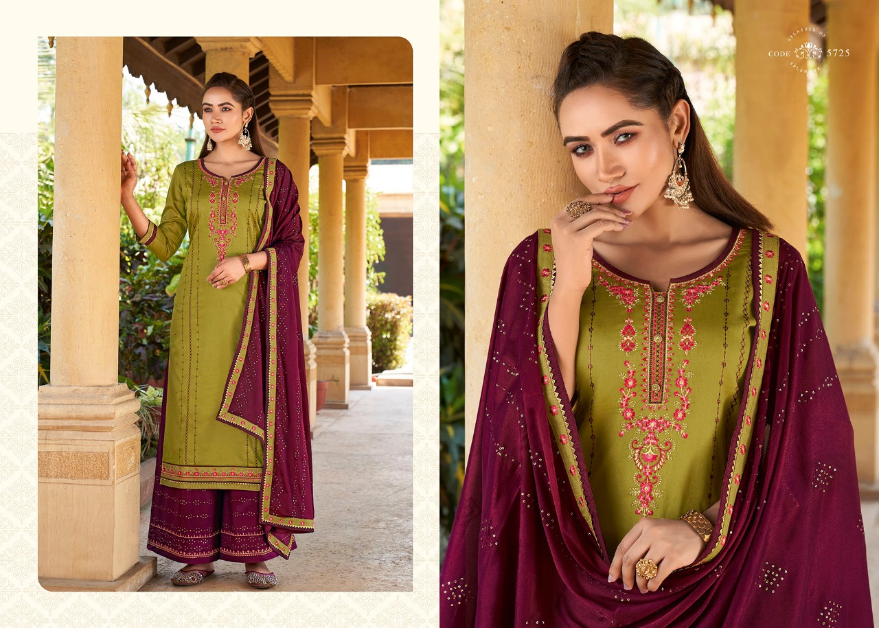 Kessi Safari Premium Salwar Suit Wholesale Catalog 8 Pcs 8 - Kessi Safari Premium Salwar Suit Wholesale Catalog 8 Pcs