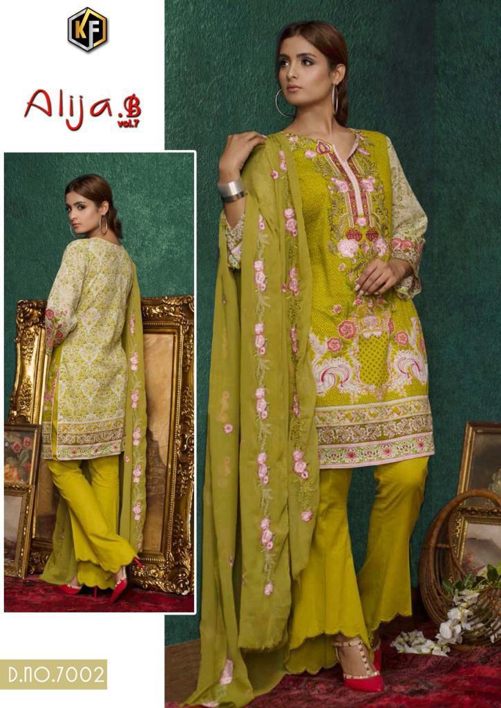 Keval Fab Alija B Vol 7 Heavy Cotton Salwar Suit Wholesale Catalog 6 Pcs 7 - Keval Fab Alija B Vol 7 Heavy Cotton Salwar Suit Wholesale Catalog 6 Pcs
