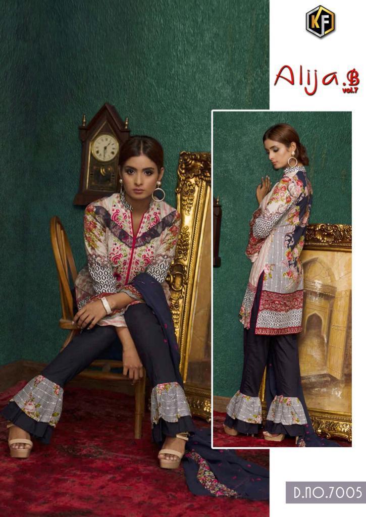 Keval Fab Alija B Vol 7 Heavy Cotton Salwar Suit Wholesale Catalog 6 Pcs 8 - Keval Fab Alija B Vol 7 Heavy Cotton Salwar Suit Wholesale Catalog 6 Pcs
