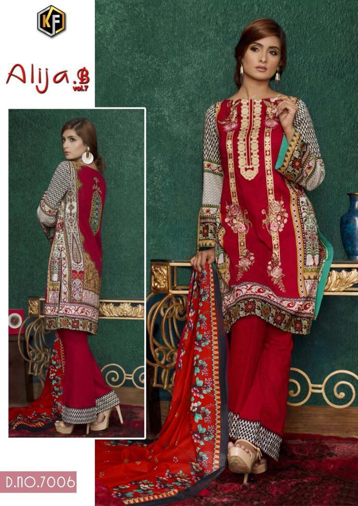 Keval Fab Alija B Vol 7 Heavy Cotton Salwar Suit Wholesale Catalog 6 Pcs 9 - Keval Fab Alija B Vol 7 Heavy Cotton Salwar Suit Wholesale Catalog 6 Pcs