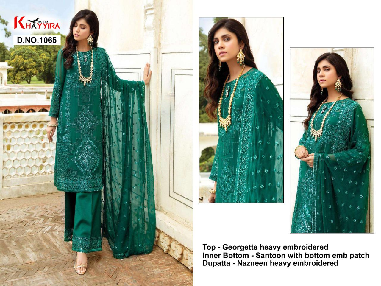 Khayyira Eleonora Collection Salwar Suit Wholesale Catalog 5 Pcs 4 - Khayyira Eleonora Collection Salwar Suit Wholesale Catalog 5 Pcs