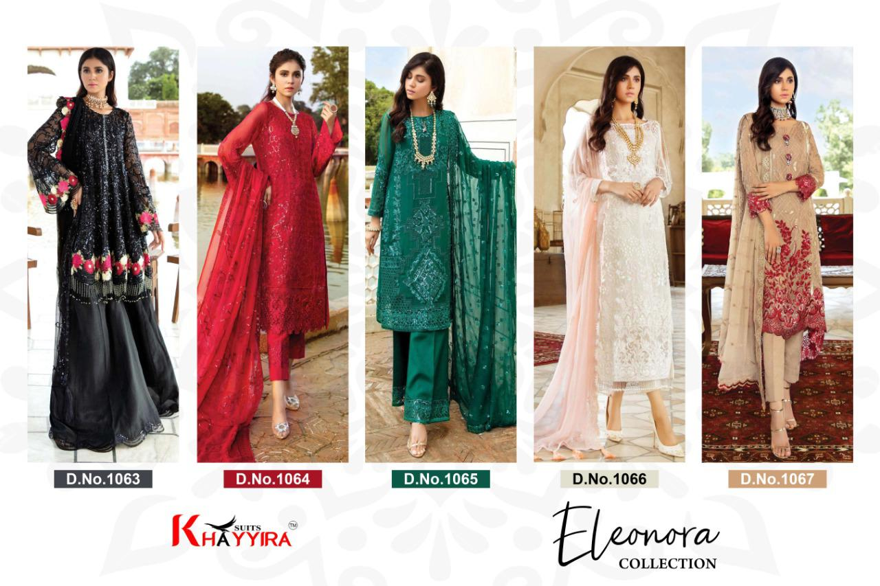 Khayyira Eleonora Collection Salwar Suit Wholesale Catalog 5 Pcs 7 - Khayyira Eleonora Collection Salwar Suit Wholesale Catalog 5 Pcs