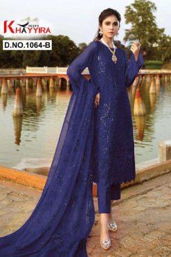 Khayyira Eleonora Edition 1064 Salwar Suit Wholesale Catalog 4 Pcs