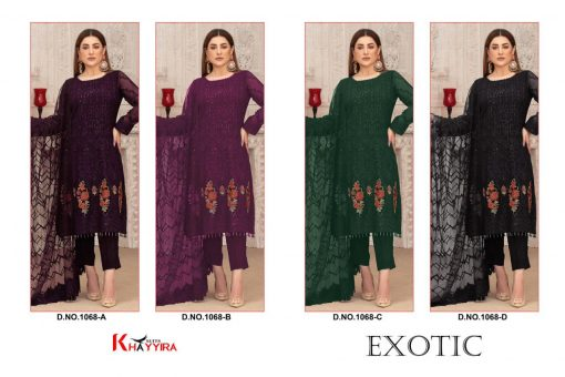 Khayyira Exotic Salwar Suit Wholesale Catalog 4 Pcs 5 510x340 - Khayyira Exotic Salwar Suit Wholesale Catalog 4 Pcs
