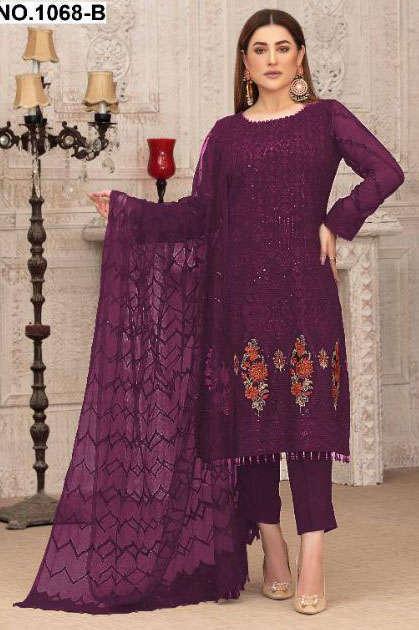 Khayyira Exotic Salwar Suit Wholesale Catalog 4 Pcs