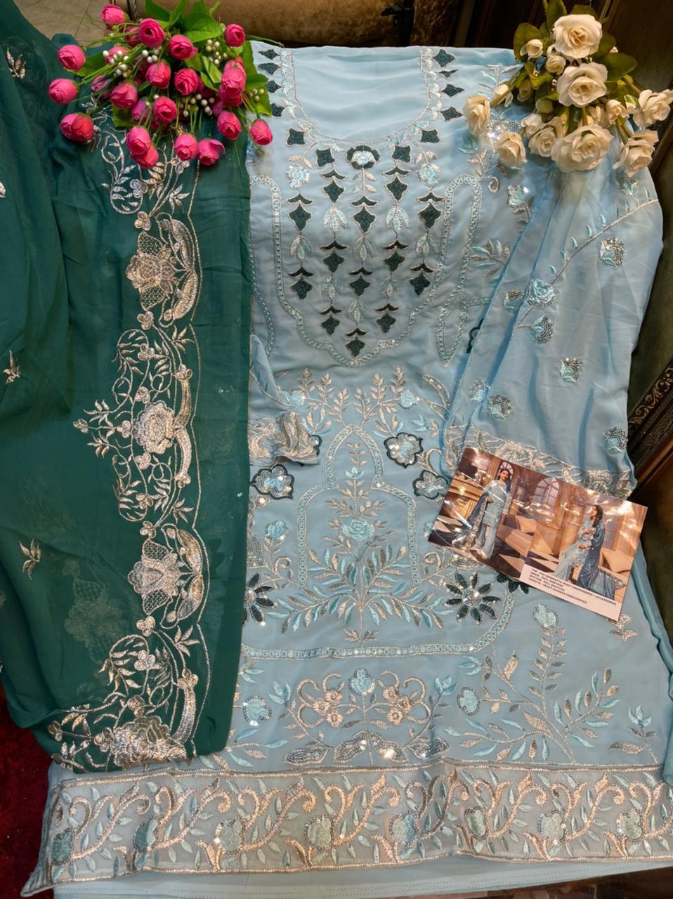 Khayyira Zeenat Salwar Suit Wholesale Catalog 4 Pcs 10 - Khayyira Zeenat Salwar Suit Wholesale Catalog 4 Pcs