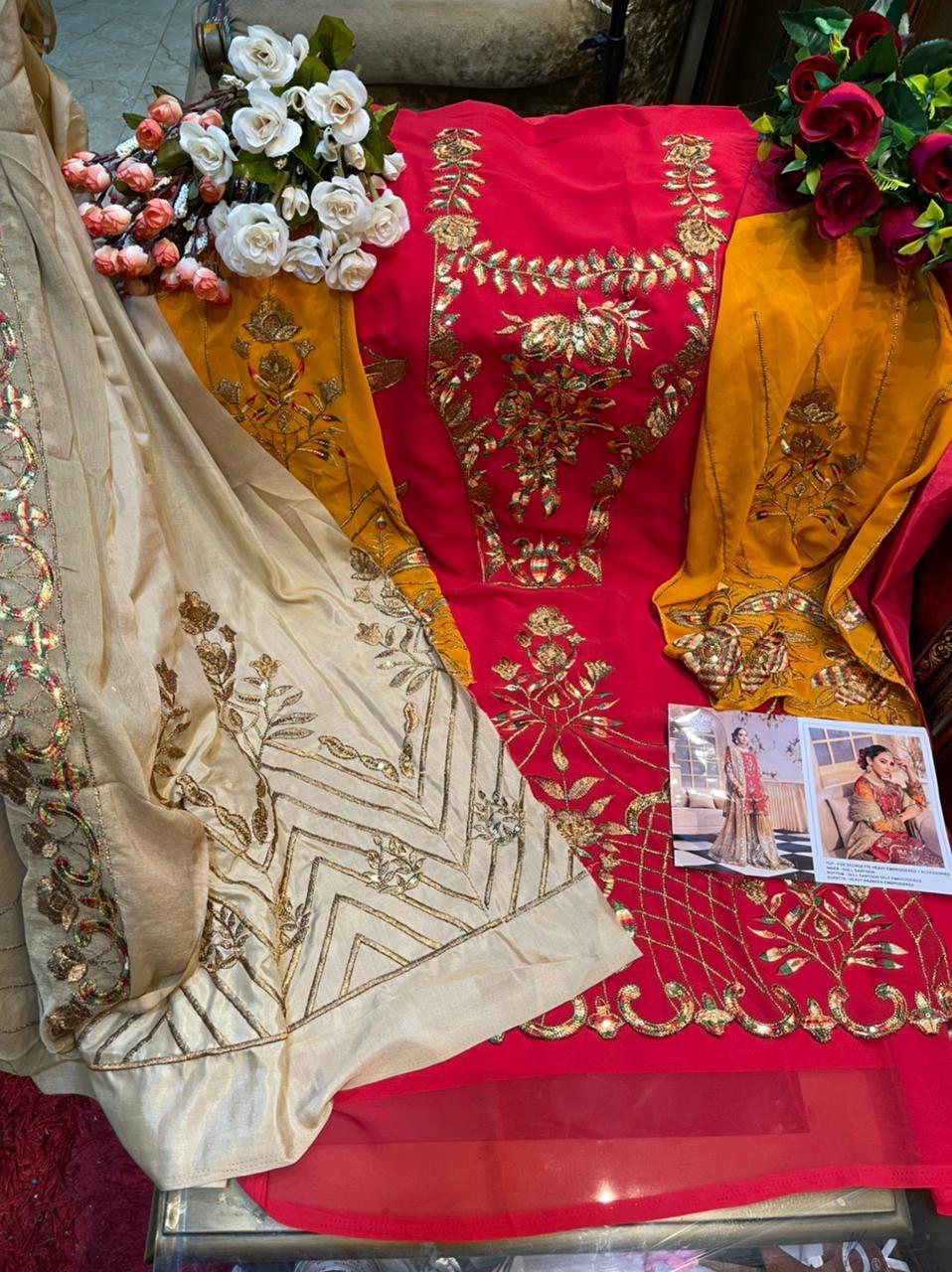 Khayyira Zeenat Salwar Suit Wholesale Catalog 4 Pcs 8 - Khayyira Zeenat Salwar Suit Wholesale Catalog 4 Pcs