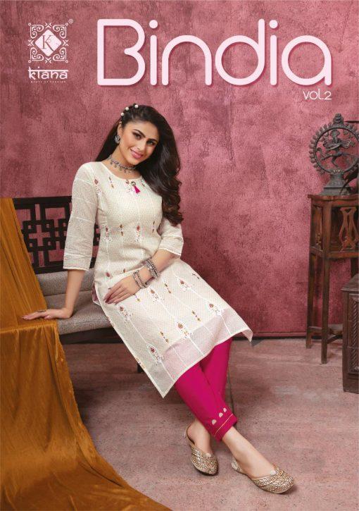 Kiana Bindia Vol 2 Kurti with Pant Wholesale Catalog 8 Pcs 1 510x725 - Kiana Bindia Vol 2 Kurti with Pant Wholesale Catalog 8 Pcs