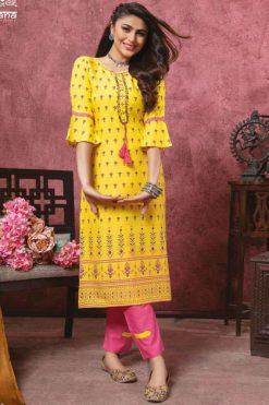 Kiana Bindia Vol 2 Kurti with Pant Wholesale Catalog 8 Pcs 247x371 - Parshvi Sanika Vol 1 by R Studio Kurti Wholesale Catalog 8 Pcs