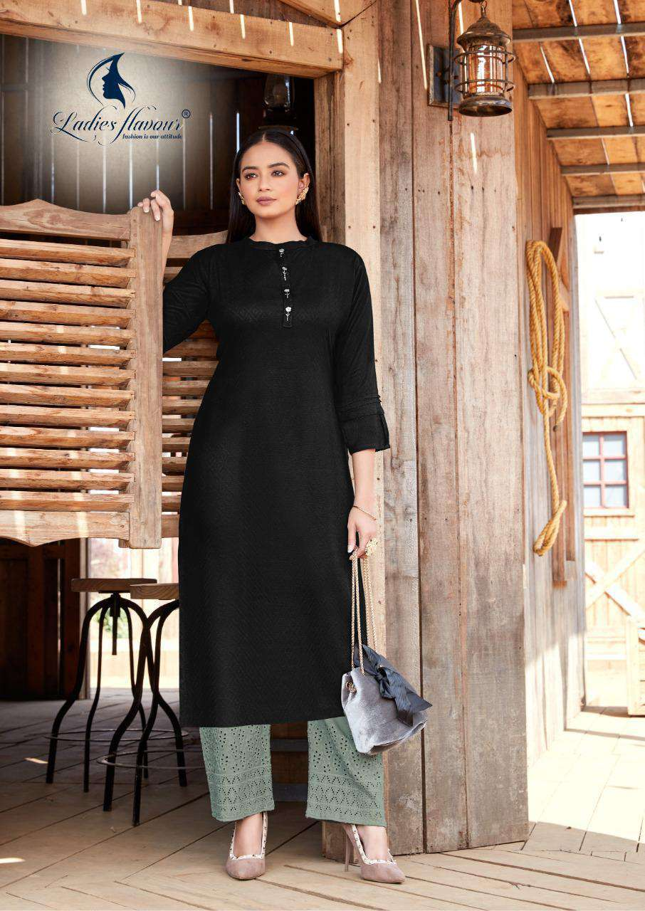 Ladies Flavour Shehnaz Vol 2 Kurti with Palazzo Wholesale Catalog 8 Pcs 5 - Ladies Flavour Shehnaz Vol 2 Kurti with Palazzo Wholesale Catalog 8 Pcs