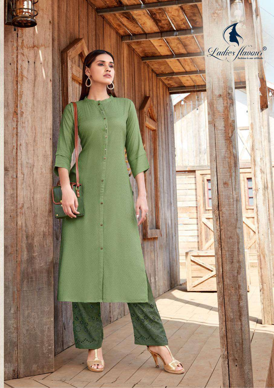 Ladies Flavour Shehnaz Vol 2 Kurti with Palazzo Wholesale Catalog 8 Pcs 9 - Ladies Flavour Shehnaz Vol 2 Kurti with Palazzo Wholesale Catalog 8 Pcs