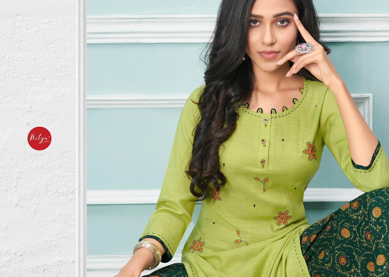 Lt Fabrics Nitya Glory Kurti with Palazzo Pant Wholesale Catalog 8 Pcs 9 - Lt Fabrics Nitya Glory Kurti with Palazzo Pant Wholesale Catalog 8 Pcs