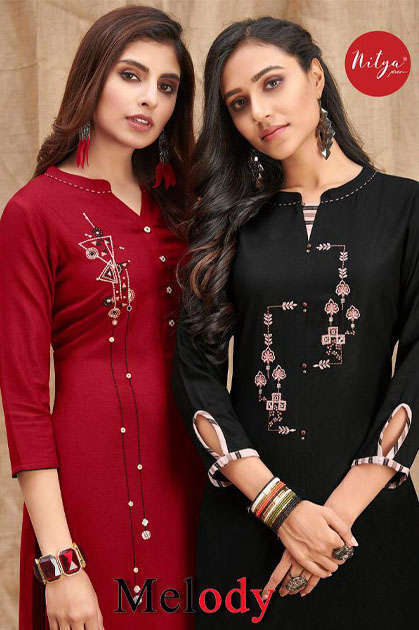 Lt Fabrics Nitya Melody Kurti with Palazzo Wholesale Catalog 8 Pcs - Lt Fabrics Nitya Melody Kurti with Palazzo Wholesale Catalog 8 Pcs