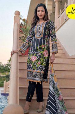 M Prints Vol 4 Salwar Suit Wholesale Catalog 10 Pcs