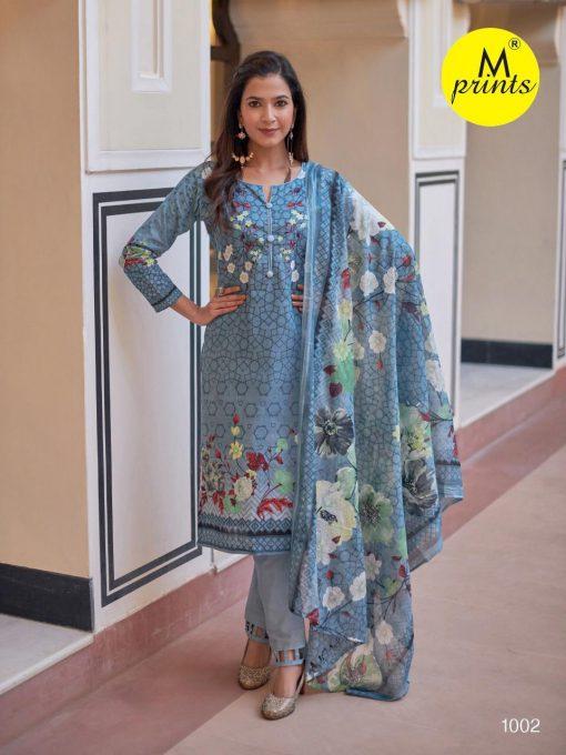 M Prints Vol 4 Salwar Suit Wholesale Catalog 10 Pcs 3 510x680 - M Prints Vol 4 Salwar Suit Wholesale Catalog 10 Pcs