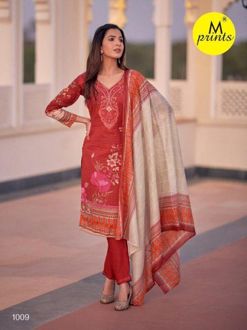 M Prints Vol 4 Salwar Suit Wholesale Catalog 10 Pcs 5 510x680 - M Prints Vol 4 Salwar Suit Wholesale Catalog 10 Pcs