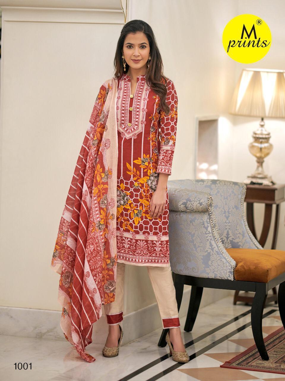 M Prints Vol 4 Salwar Suit Wholesale Catalog 10 Pcs 8 - M Prints Vol 4 Salwar Suit Wholesale Catalog 10 Pcs