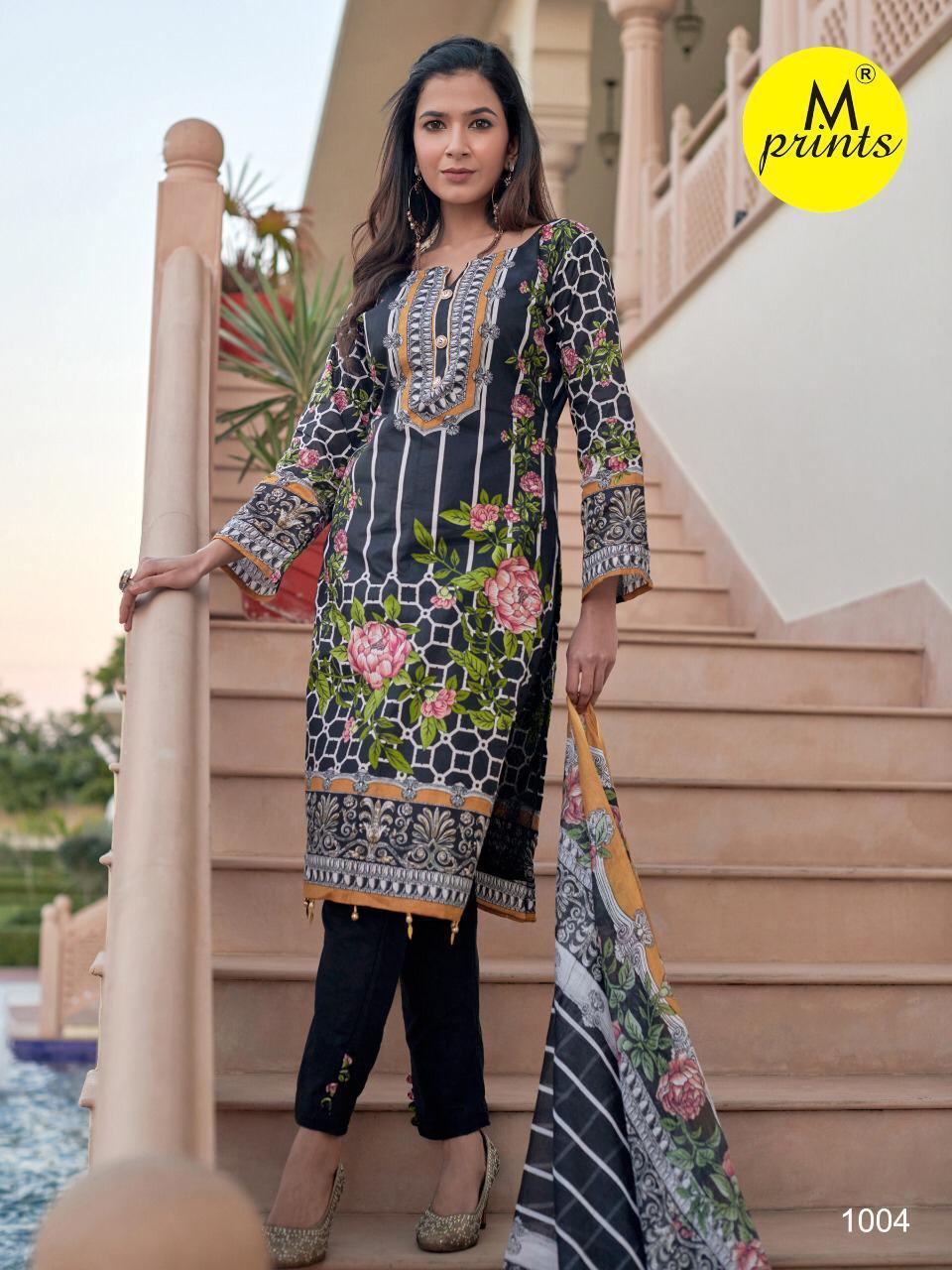 M Prints Vol 4 Salwar Suit Wholesale Catalog 10 Pcs 9 - M Prints Vol 4 Salwar Suit Wholesale Catalog 10 Pcs